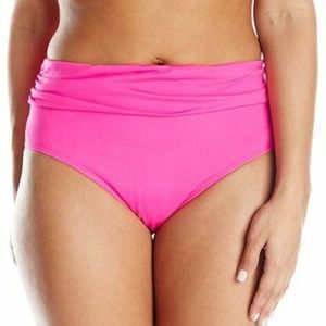 NEW Kenneth Cole Plus Rufflelicious Bikini Bottom